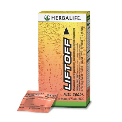 herbalife liftoff how to use