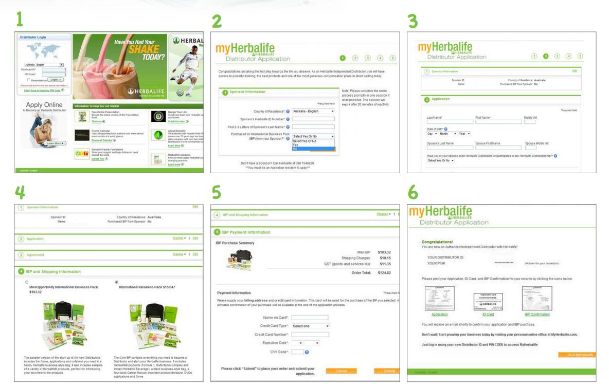 herbalife starter kit instructions