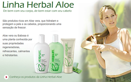 Linha Herbal Aloe