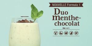 Formula 1 Boisson nutritionnelle Saveur Duo menthe choco
