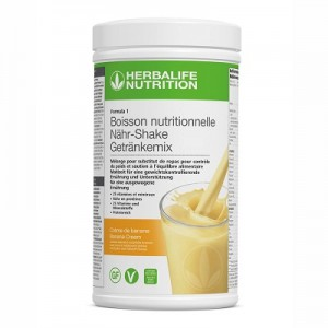 Formula 1 Banana Cream – Gesunde Mahlzeit