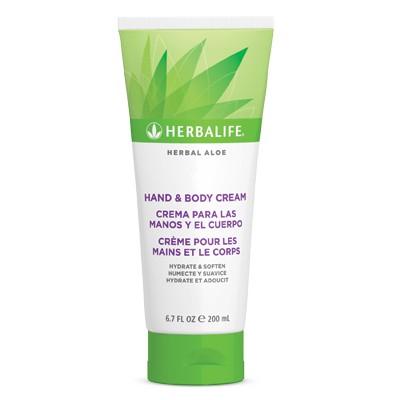 Herbal Aloe Hand & Body Cream