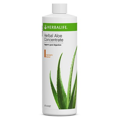 Herbal Aloe Concentrate Mandarin Flavour