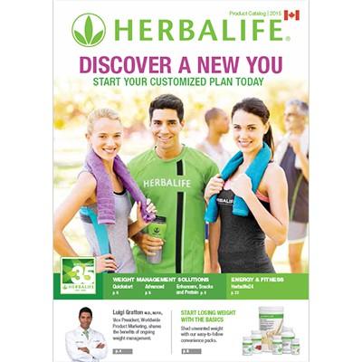 Herbalife Canada Product Catalog