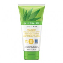 Herbal Aloe Face & Body Sunscreen Broad Spectrum SPF 30