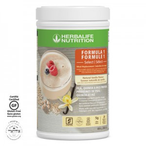 Formula 1 Select - Gluten-free, not made with soy and dairy, non-GM ingredients