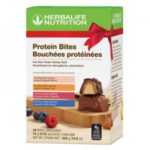 Assortiment de Bouchées protéinées