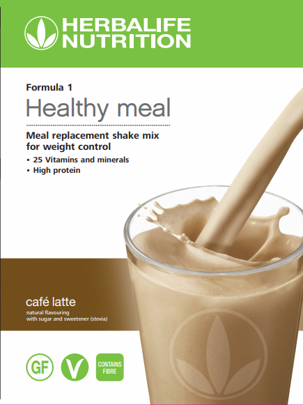 Formula 1 Nutritional Shake Mix Cafe latte