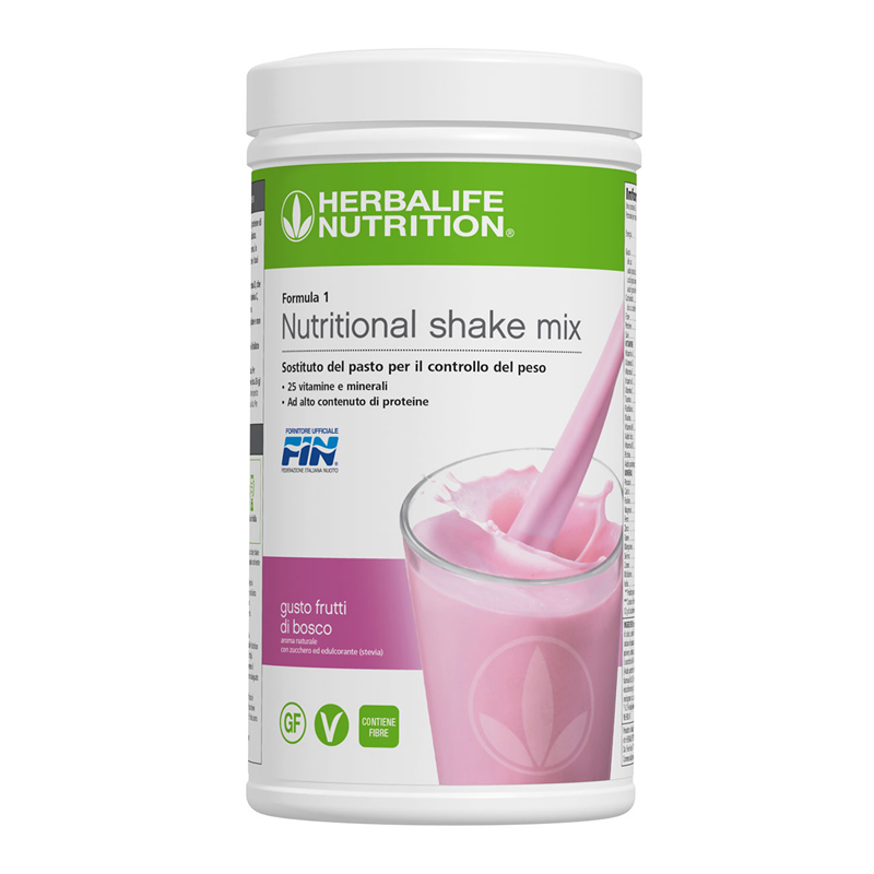 NEW Formula 1 Nutritional Shake Mix Summer Berries