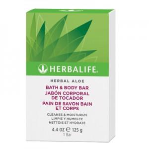Herbal Aloe Bath & Body Bar