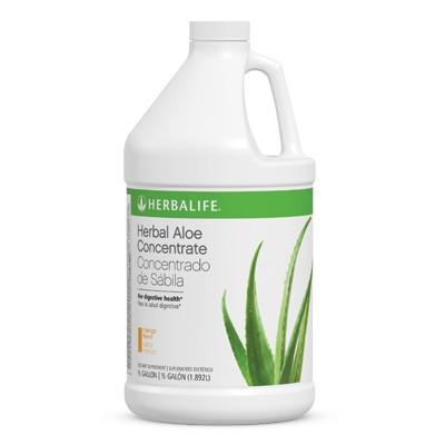Bebidas Herbal Aloe Concentrado de Sábila-Mango 1/2 galón