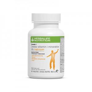 Fórmula 2 Complexo Vitamínico e Mineral para Homens