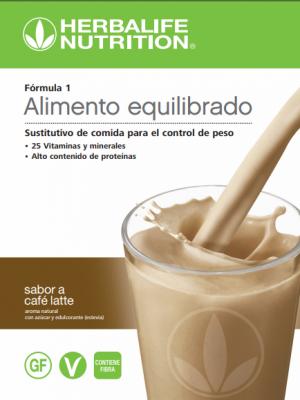Batido Fórmula 1 Caffè Latte