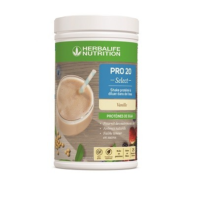 PRO 20 Select - Shake protéiné à diluer dans de l'eau