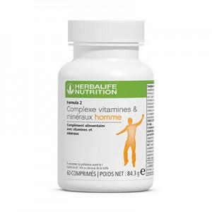 Formula 2 Complexe vitamines & minéraux homme
