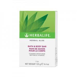 Pain de Savon pour le Corps Herbal Aloe