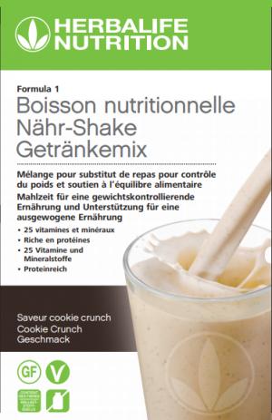 Formula 1 Boisson nutritionnelle Cookie Crunch