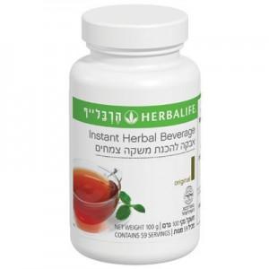 אבקת משקה צמחי (תה ירוק) לשריפת שומנים ואנרגיה תרמוג'טיקס 100 גר'