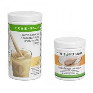 ארוחת בוקר מהירה מזינה ובריאה: שייק פורמולה 1 + אבקת חלבון